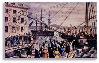 Boston Tea Party, Boston History, Revolutionary War
