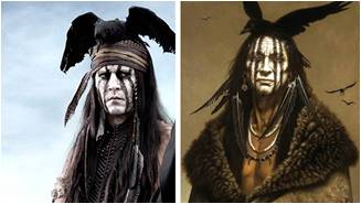 Tonto, The Lone Ranger, Kirby Sattler, I Am Crow