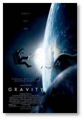 Gravity, @Gravity_Movie, George Clooney, Sandra Bullock, Alfonso Cuaron