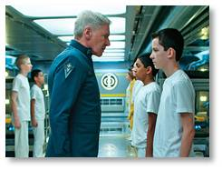 Ender's Game, Harrison Ford, Asa Butterfield, Gavin Hood