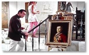 James Bond, Dr. No, Goya, Portrait of the Duke of Wellington