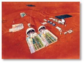 NASA, Mars mission, Mars colony