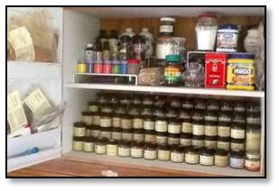 pantry shelf