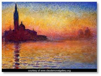 Claude Monet, San Giorgio Maggiore at Dusk, the Thomas Crown Affair, Thomas Crown