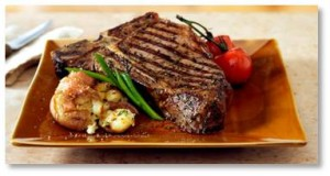 steak, grilled steak, T-bone steak