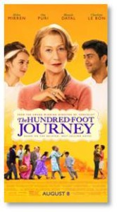 The One Hundred Foot Journey, Helen Mirren, Om Puri, Manish Dayal, Le Saule Pleureur
