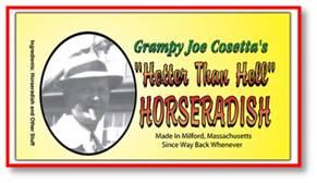 Grampy Joe's Cosetta's Hotter Than Hell Horseradish