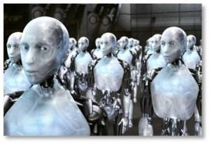 Robot chronicles. Here is a list of David's blog posts on the subject of robots and whether they will wreak havoc on the ability of human beings to be gainfully employed and to support their families.
