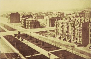Commonwealth Avenue, Back Bay Boston, nineteenth century