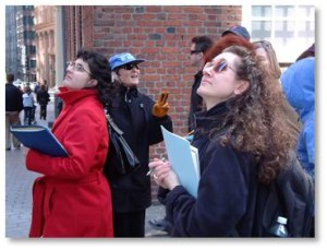 New guides complete Boston By Foot's annual training program, that is scheduled for six Saturdays from March 19 through April 23, 2016. Led by distinguished professionals, this course traces Boston's history and architecture from 1630 to the present and provides you with everything you need to know to lead informed, insightful and engaging tours.