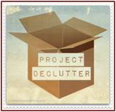 The Declutter Project: Unless you are a minimalist, you deal with clutter. It's a by-product of life; things that end up waiting for someone to deal with them. Clutter sneaks up on me, and to that end I've embarked on my 2016 goal—The Declutter Project.