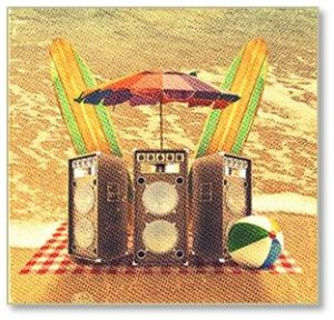 Transistor radios delivered only news and music. In those days I heard them at the beach and I'm sure that many people on the sand nearby were irritated by loud music. As a teenager I had no problem with loud music and I spent most of my time in the water, anyway.