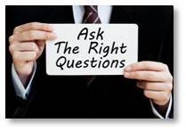 Before we talk about interview questions you should or should not ask an interviewer, you must ask yourself one.  Do you want this job?  Knowing this before you accept an interview will influence your attitude and your answers.  The interviewer form opinions with each question asked.