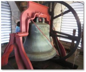 "Originally cast in London in 1722, this instrument is called the Paul Revere Bell because Paul Revere and Sons recast it in 1816 after the old one cracked. The largest and last bell of the 400 he cast, Revere called it ""the sweetest bell we ever made."" (You can hear it ring on YouTube). It tolled his death in 1818. King's Chapel rings the bell three times a week, on Sundays, Wednesdays and Saturdays."