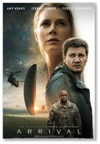 "Of the five movies in this post, Arrival was my favorite by far. People who might be turned off by a ""first alien contact"" description should know that this movie is about much, much more."