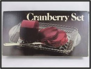 Long before we got all up in the business of making gourmet cranberry sauce it came in a can. There were two options – jellied and whole berry sauce. My mom was a disciple of The Can. She had a special dish and spoon for the jellied red tube and it held a place of honor in the center of the dinner table. We loved it, and it doesn't feel quite like Thanksgiving without it.
