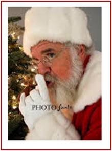 I also checked in with Santa, or to be more precise, Santa Wayne, one of his very special helpers. He's is a busy man and December is a demanding month for him. Santa Claus's workload means he needs people he can count on and Santa Wayne steps up.