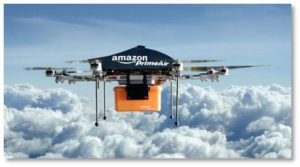 "When Amazon first announced its concept of delivery drones, one wag commented that it would be ""Skeet shooting, only with prizes."" I giggle as I imagine Kilo squealing like R2-D2 as it rolls away from robot-hunting teenagers in the hood. You have to admit, that is funny."