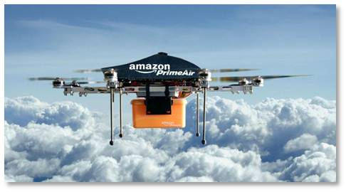 When Amazon First Announced Its Concept Of Delivery Drones One Wag Commented That It Would