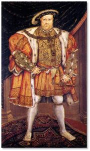 and I am struck by some of the similarities between the reign of Henry VIII and our current times.