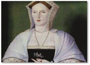 Most went to their deaths with composure but Lady Margaret Pole, Countess of Salisbury, resisted. The frail old lady (67) was hacked to death by the executioner and it took between 10 and 11 blows to bring her down.