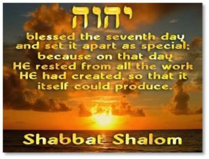 "Sabbath begins Friday evening at sunset and ends on Saturday night. All Jewish days begin at sunset, based on the wording of the story of Creation in Genesis 1. At the end of the description of each day, we find the phrase: ""…And there was evening, and there was morning…"" Since evening is mentioned first, the ancient rabbis assumed evening came first."