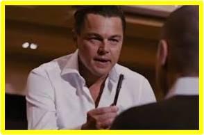Leonardo Di Caprio, Jordan Belfort, The Wolf of Wall Street