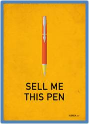 Sell me this pen, Jordan Belfort, The Wolf of Wall Street