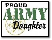 Proud Army Daughter