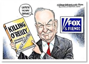 Killing O'Reilly cartoon, Dave Granlund