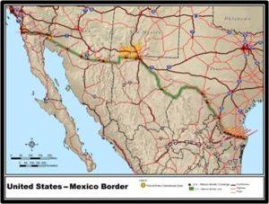 border wall, US-Mexican border,Rio Grande, border wall