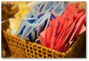 Tabletop sweeteners, aspartame, NutraSweet, Equal, toxic substance, poison