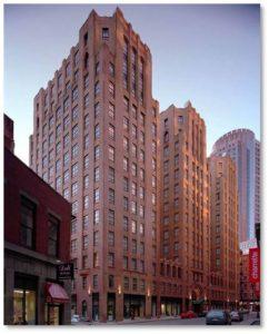 Batterymarch Building, Harold Field Kellogg, Hilton Boston Downtown/Faneuil Hall
