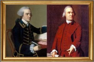 John Hancock, Samuel Adams, Sons of Liberty