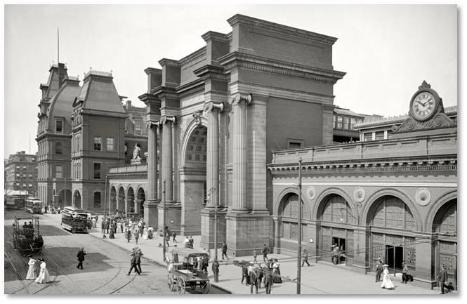 Union Station, Boston, lost buildings
