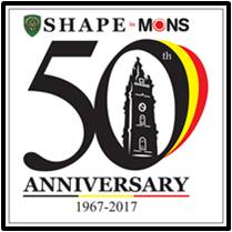 SHAPE 50th Anniversary Logo