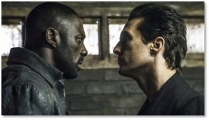 Idris Elba and Matthew McConaughey in the Dark Tower Movie