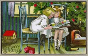 Christmas Card from L. Prang Co., chromolithography