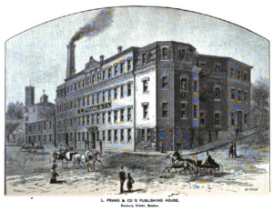 L Prang Co Printing House, Centre Street, Roxbury