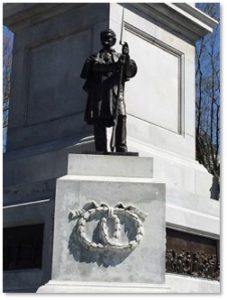 Citizen Soldier, Soldier and Sailors Monument, Flagstaff Hill, Boston Common, Martin Milmore