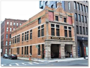 Congress Street Fire Station, Boston Fire Museum, Fort Point Channel, Seaport District, Harrison Henry Atwood, Romanesque Revival