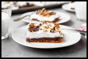 S'Mores Slab Pie