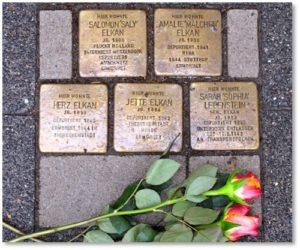 Stumblestones, Frankfurt, Stolperstein Project, Gunther Demnig