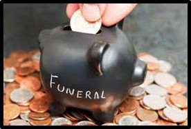 funeral, planning funeral, paying for funeral, saving for funeral