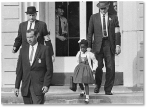 Ruby Bridges, U.S. Marshals, Norman Rockwell, The Problem We All Live With
