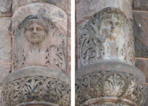 26 Exeter Street, First Spiritual Temple, ghostly faces, carved faces