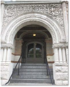 Charlesgate, Charlesgate East, Richardsonian Romanesque, Indiana limestone