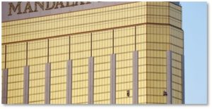 Mandalay Bay Hotel, Las Vegas, mass murder, broken windows, gun violence