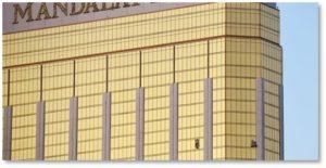 Mandalay Bay Hotel, Las Vegas, mass murder, broken windows, gun violence