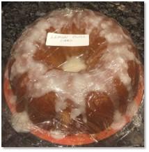 Lemon Bliss Cake, King Arthur Flour, bake sale